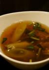 簡単!えのきとニラの中華スープ