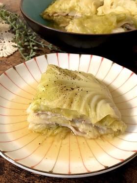 簡単*豚バラとキャベツのミルフィーユ煮