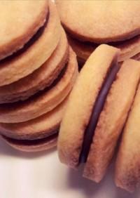 ビニール袋で簡単!チョコサンドクッキー☆