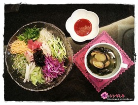 ダイエット中にも安心・チョ簡単韓国海鮮丼
