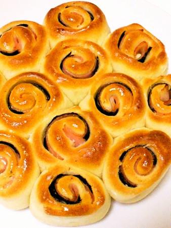 簡単手作りパン☆小さなロール