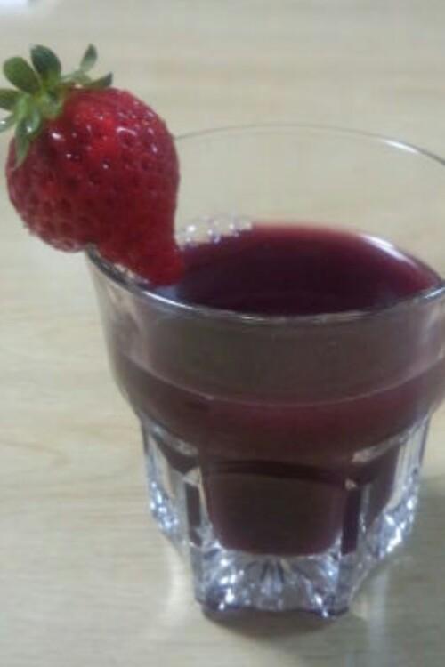 カルピス×赤ワイン 簡単カクテル