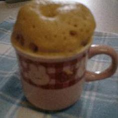マグでチンして簡単きな粉蒸しパン
