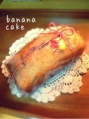 バナナのパウンドケーキ サラダ油で簡単!の写真