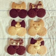 簡単☆かわいい☆ブヒブヒクッキー
