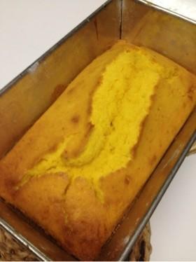 簡単☆かぼちゃのパウンドケーキ