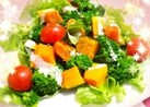 カボチャとブロッコリーのデリ風サラダ