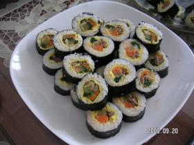 韓国海苔巻き(キンパ)