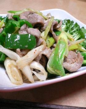 野菜たっぷり&ゴハンが進む豚肉のにんにく炒め