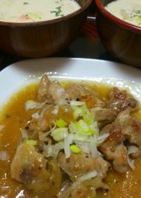 鶏肉と玉葱の甘酢煮