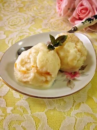 ジャム&酒かす&白味噌のヨーグルトアイス