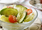 減塩☆レタスと胡瓜のサラダ
