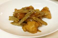 鶏ごぼうの甘辛煮