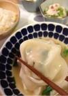 プリプリもちもち水餃子♥豆腐とキムチ入り