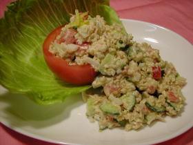 栄養満点♪キヌアのサラダ☆