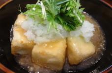 めんつゆで簡単♪揚げ出し豆腐