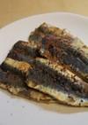 七味唐辛子が決め手醤油麹de鰯の米粉焼き