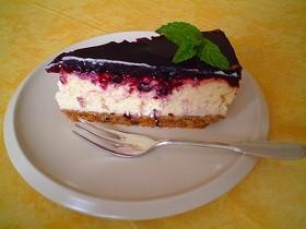 ニューヨーク風チーズケーキ