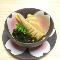 優しい味の若竹煮