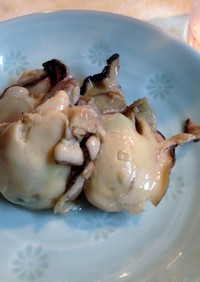 蒸し牡蠣の酢漬け