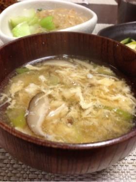 干し椎茸の中華スープ