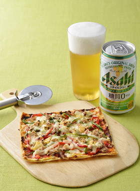 【糖質オフ】こんがり油揚げピザ
