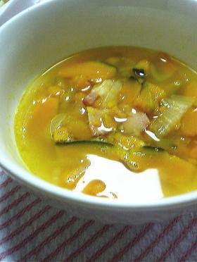 簡単美味しい☆かぼちゃたっぷりスープ