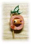 簡単キャラ弁おかず:ウィンナーの鯉のぼり