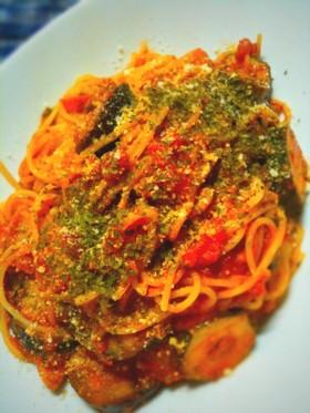 夏野菜で簡単に ズッキーニ&ナスのパスタ