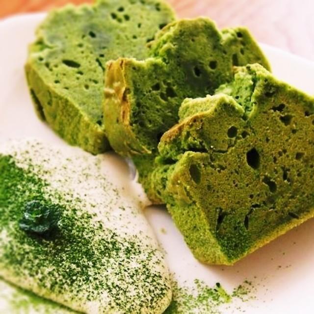 ヘルシー♥米粉と豆乳の抹茶パウンドケーキ