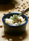 ひよこ豆の粒マスタードとハムのサラダ♪