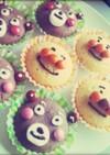 簡単*キャラクターカップケーキ