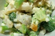 れんこんとブロッコリーの卵マヨサラダ