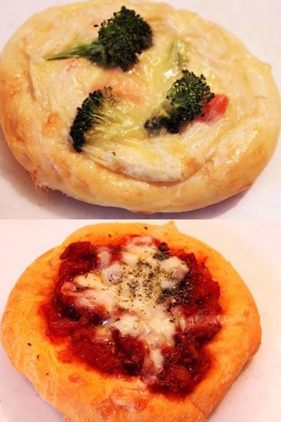 簡単!グラタンパンとミートソースパン