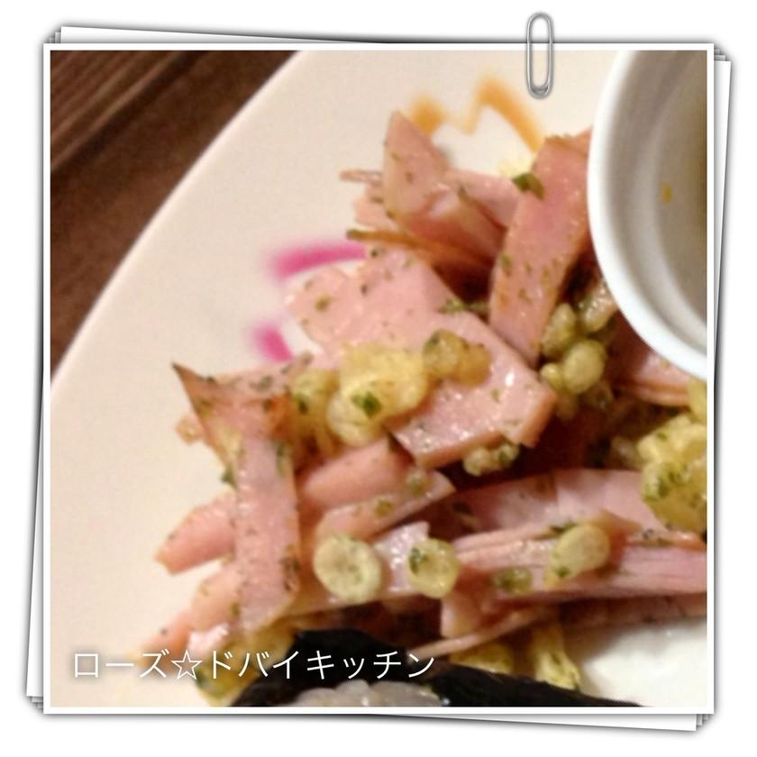 おつまみに♡お弁当に♡簡単ハムマヨ炒め♡