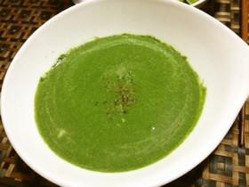 ほうれん草のスープ(ポタージュ)