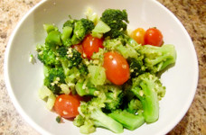 簡単!ブロッコリーとトマトのおひたし♪