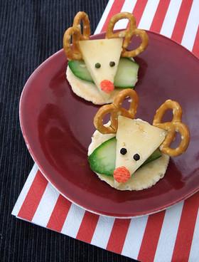 トナカイのチーズオードブル☆クリスマス