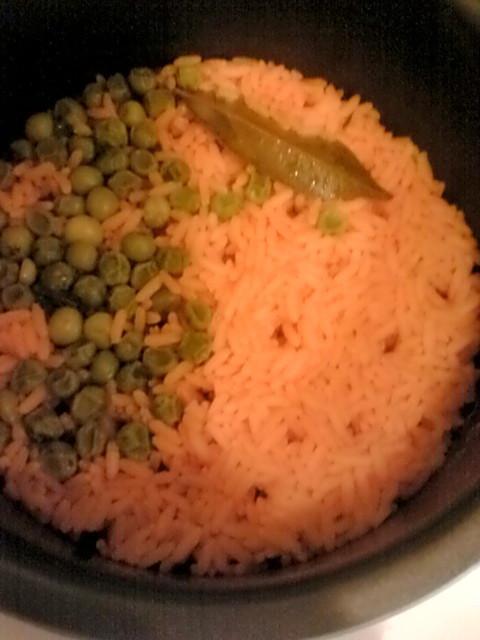 Orenge Color Rice
