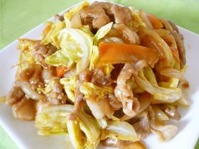 生姜風味が美味♪キャベツと豚肉の焼肉炒め