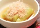 簡単に京風☆お茄子の炊いたん(煮浸し)
