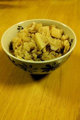 簡単美味しい  たけのこご飯