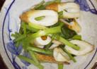 ちくわと小松菜のナンプラー炒め
