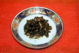 椎茸の佃煮(混ぜるだけの超簡単!)