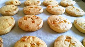ドライオレンジ(オレンジピール)クッキー