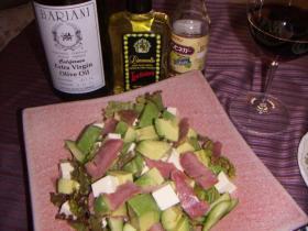 アボカドサラダ,リモンチェッロ風味