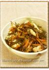 糸切り昆布とささみの炒め煮
