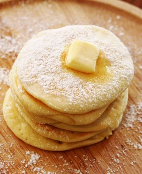 BPなし!離乳食おやつに♪米粉パンケーキ