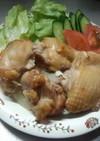 簡単鶏もも肉のめんつゆ漬け焼き