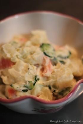 シンプルな食材で濃厚!ポテトサラダ